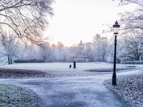 Djurgården, Stockholm, January 10, 2018