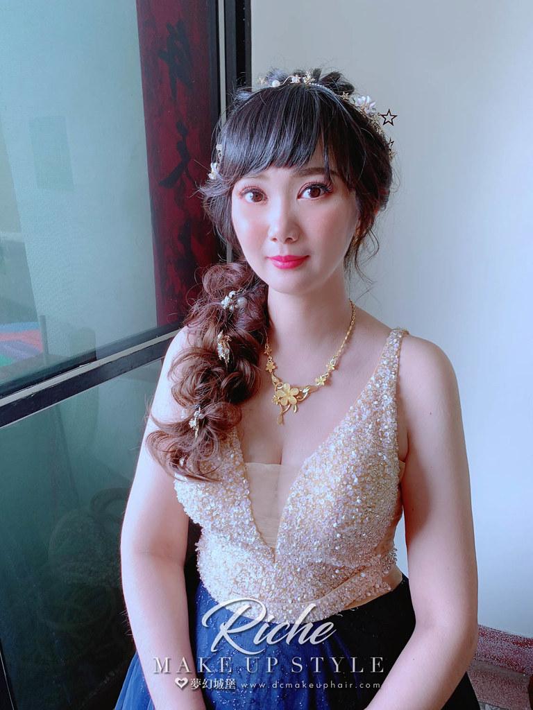 【新秘RICHE】bride晏綾 訂結婚造型 / 韓系甜美