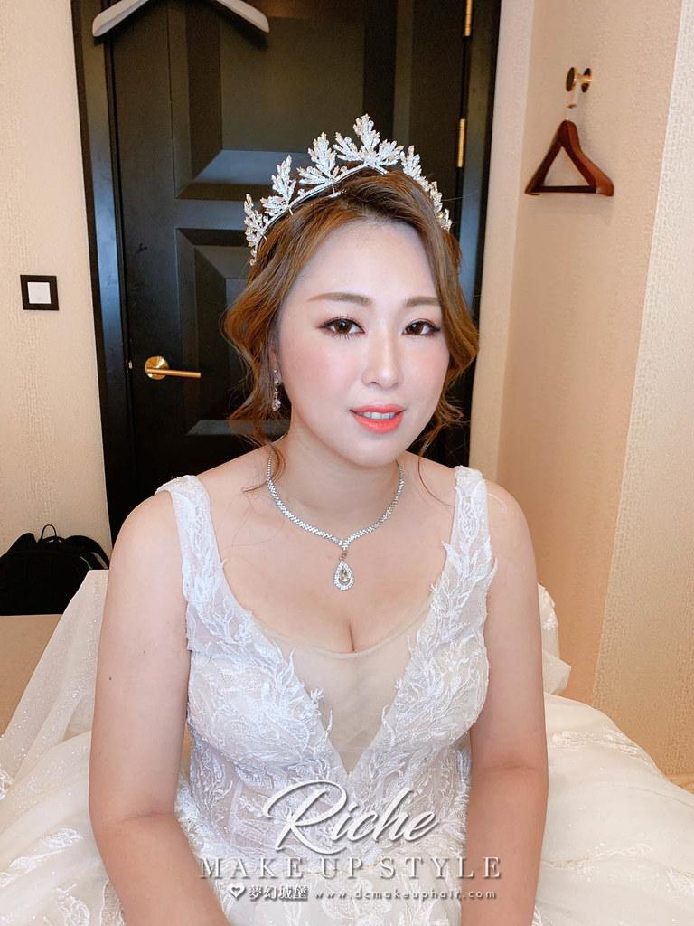 【新秘RICHE】bride慰慈 結婚造型 / 華麗女神
