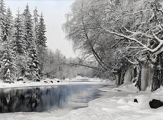 Winter landscape (Norway, 1901)