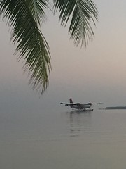 Early morning seaplane
