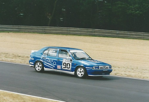 James Burland 2nd in Class F 2004
