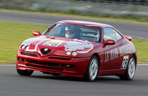 Tony Soper in his GTV in 2003