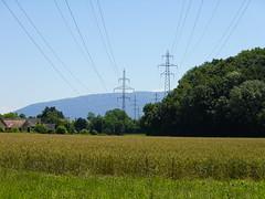 Pylône électrique @ Aire-la-Ville