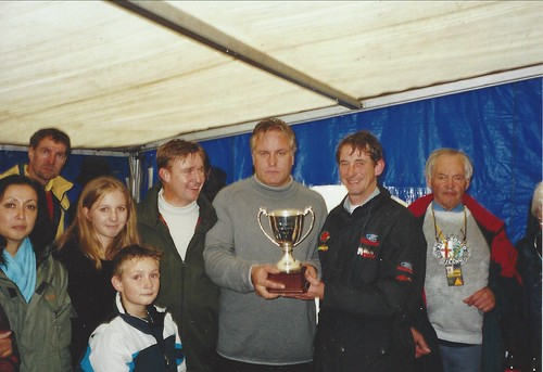 Julian Birley and Ian Flux, Kevin Griffiths Trophy winners October 2002