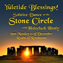 Solstice Dance Monday at 6pm SLT