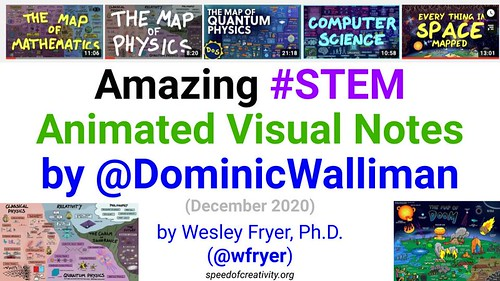 Amazing #STEM Animated Visual Notes by D by Wesley Fryer, on Flickr