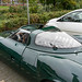Unique replica of Jaguar XJ13 in Germany, view from the side