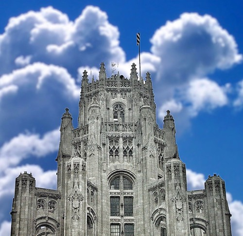 Chicago Illinois  - Tribune Tower - Historic Buildings