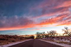 December 20, 2020 - A gorgeous sunrise. (Tony's Takes)