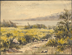 "Mary Hallen, View of Penetanguishene harbour (""Penetanguishene 1836, View from our house"") / Mary Hallen, vue du port de Penetanguishene (« Penetanguishene 1836, vue depuis notre maison »)"