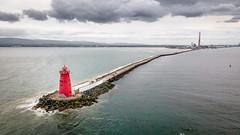 Poolbeg Lighthouse - Dublin, Ireland