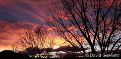 December 20, 2020 - A beautiful end to the day. (David Canfield)