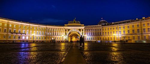 Hermitage Palace Square, Saint Petersburg, 20180919