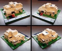LEGO Micro Scale Modern House