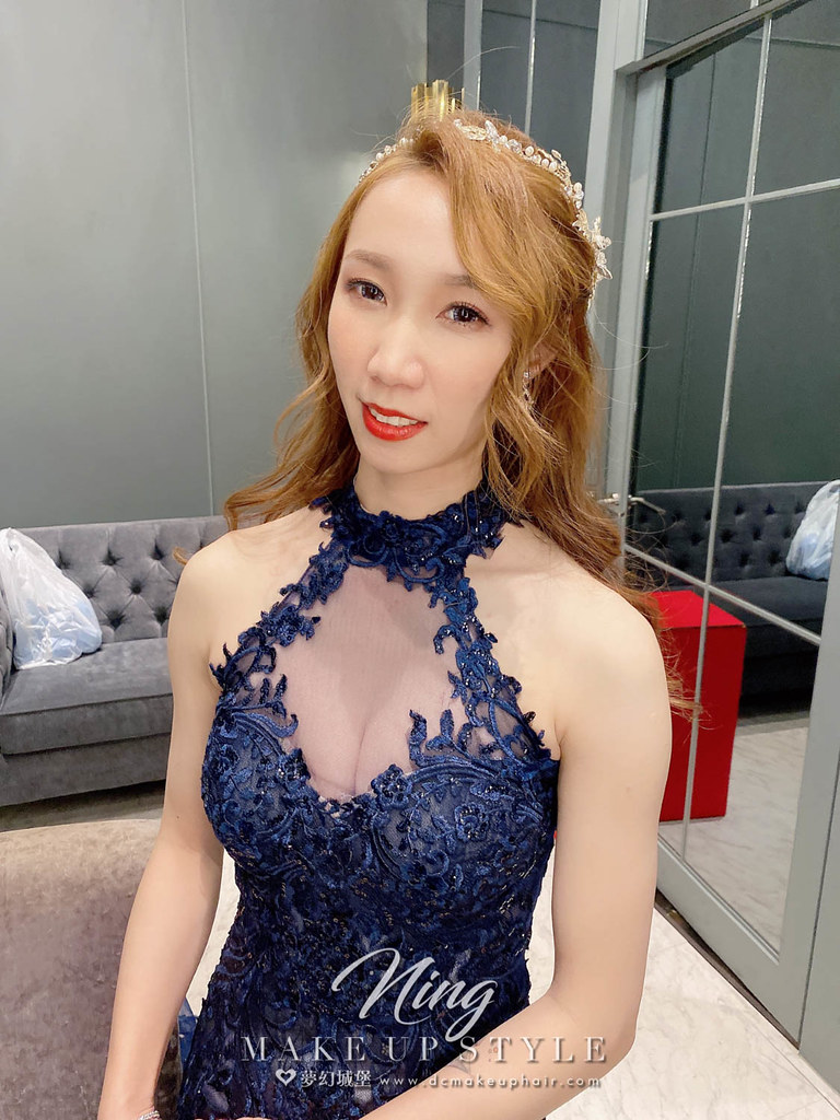 【新秘羽寧 】bride依庭 結婚造型 / 甜美韓系風