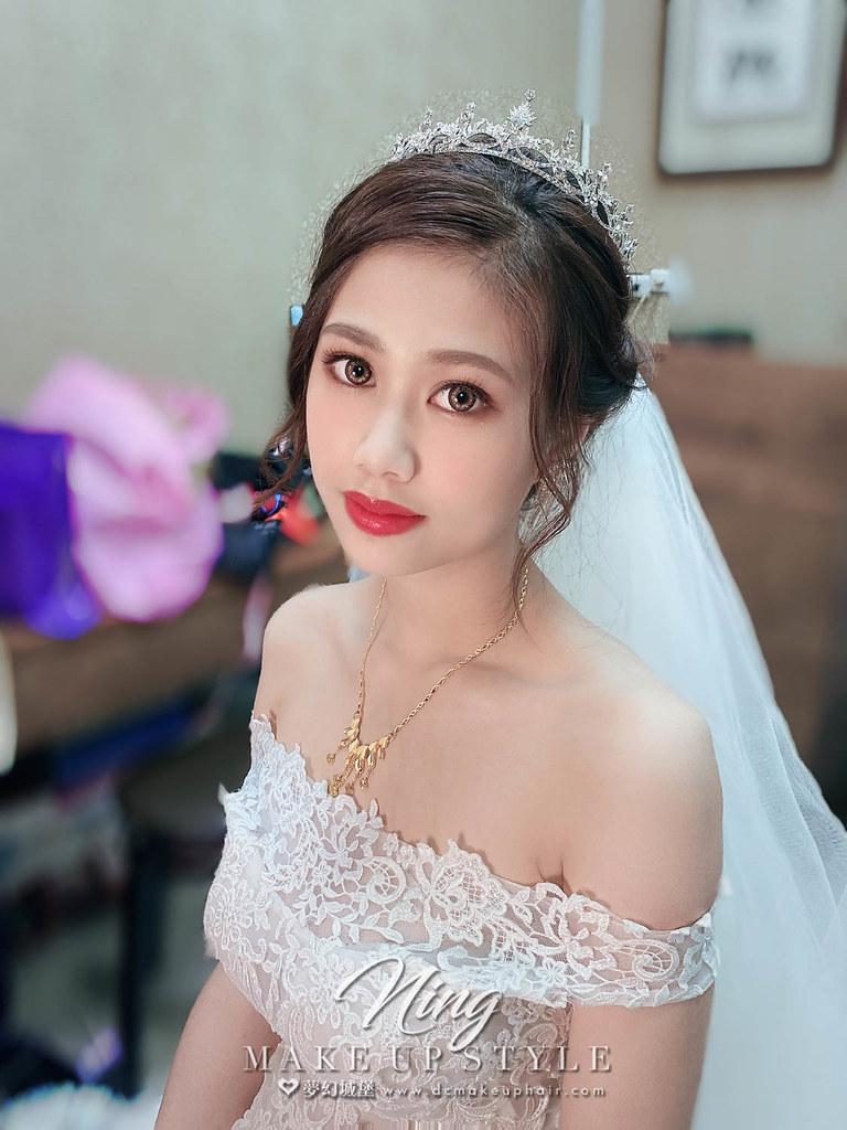 【新秘羽寧 】bride妤娟 結婚造型 / 甜美女神系