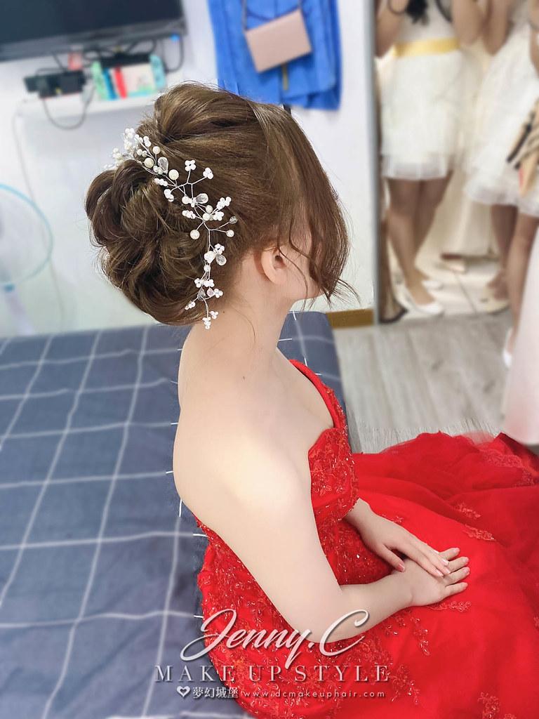 【新秘蓁妮】bride 郁雯 訂結婚造型 / 華麗公主,仙氣甜美