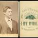 Unidentified Man, Louise DeMotte Letherman Album - Lexington, Missouri