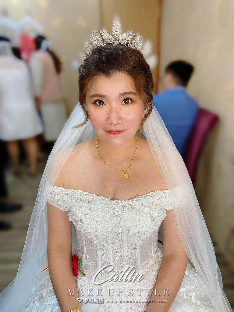 【新秘Catlin 】bride奕婷 訂結婚造型 /優雅風格