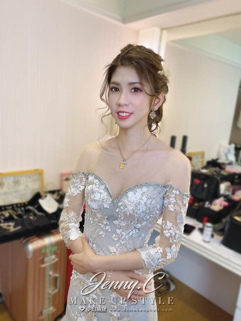 【新秘蓁妮】bride 文妤 訂結婚造型 / 韓系甜美,個性時尚
