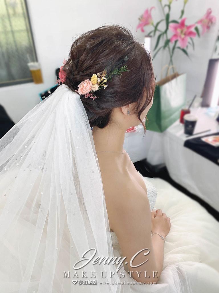 【新秘蓁妮】bride 羽婷 結婚造型 / 歐式自然