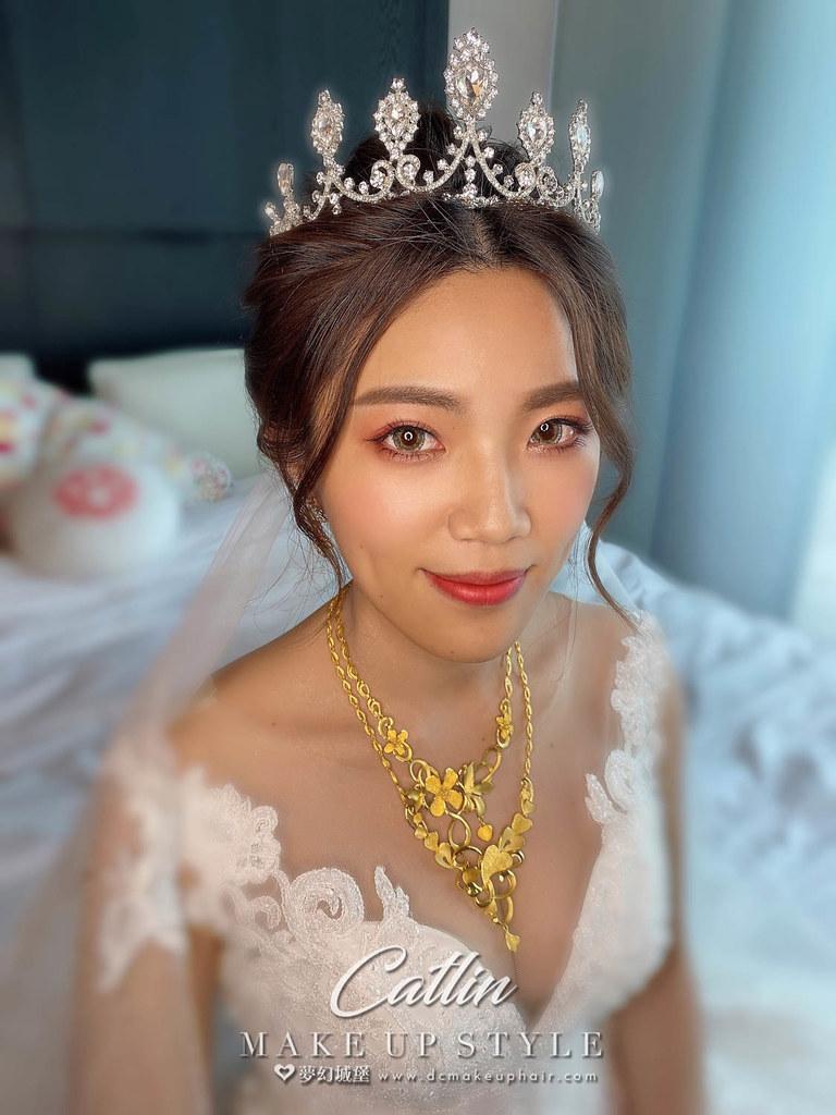 【新秘Catlin 】bride郁婷 結婚造型 /  華麗公主