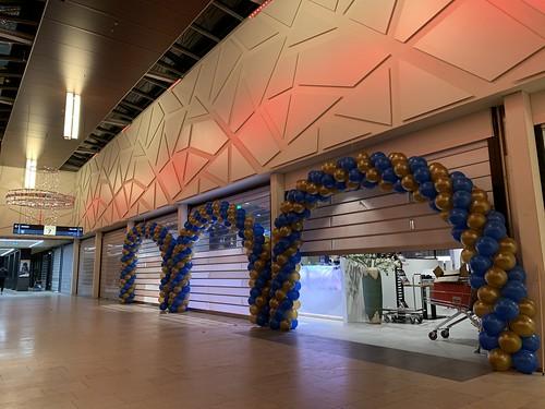 Ballonboog 8m Opening Visjuwelier De Koperwiek Capelle aan den IJssel