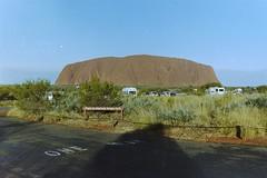 Uluru sunset viewing area