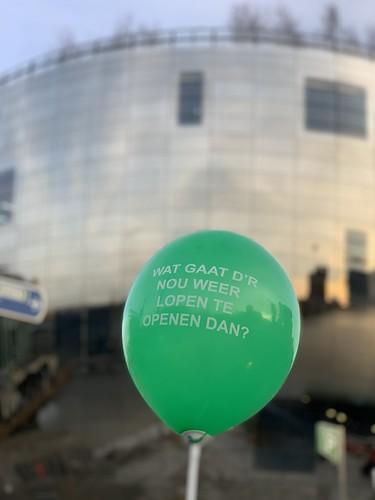 Heliumballonnen Opening Depot Museum Boijmans van Beuningen Rotterdam Rotterdamse Ballonnen