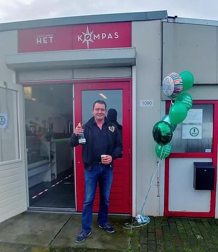 Ballonboeket Opening Cafetaria Het Kompas Europoort Rotterdam