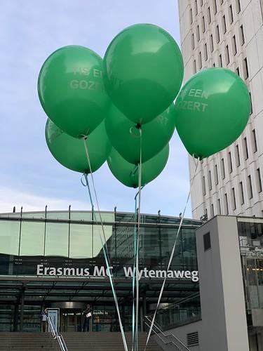 Heliumballonnen Sophia Kinderziekenhuis Rotterdam Rotterdamse Ballonnen