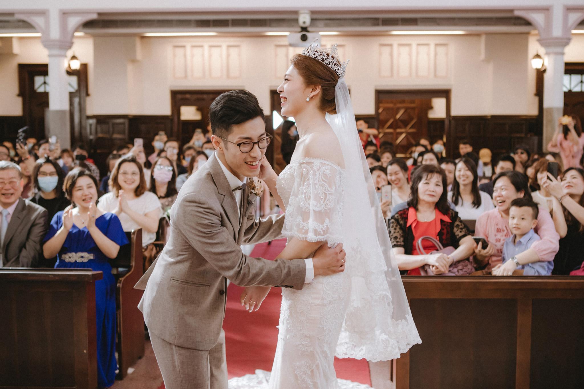EW 台北婚攝 居米 濟南教會 Brick Yard 33 美軍俱樂部 婚禮 婚宴-35