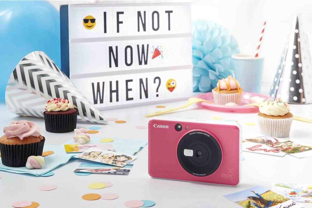 04_iNSPiC CV-123A 拍可印相機完美自拍相片輕鬆到手,買即贈精美禮盒組。