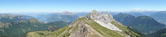 Panorama @ Sommet @ Pointe de Chaurionde