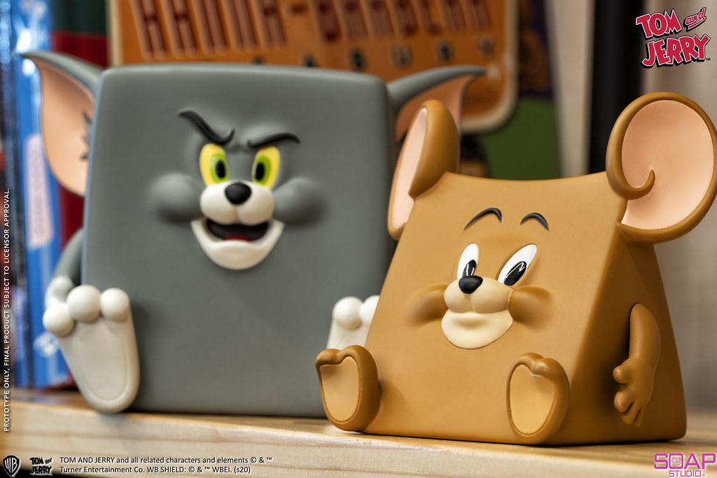 圖2-4.CA112 湯姆貓與傑利鼠 造型系列 怪趣人偶款 套組TJ_Action Mishap Figure I $2,000