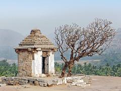 Le temple d'Hanuman (Hampi, Inde)