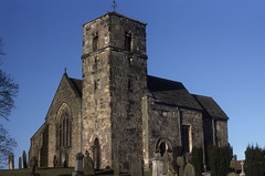 Photo of nyks - st john the baptist church kirk hammerton 01-3-1986 JL
