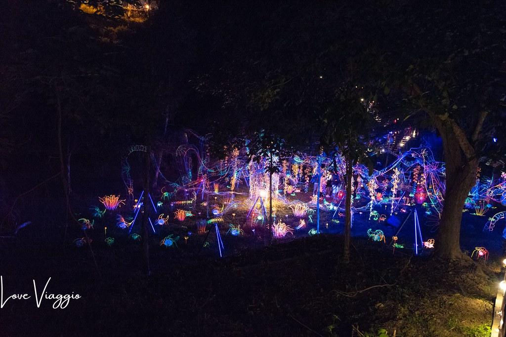 【台南 Tainan】2020-2021龍崎空山祭 最美的森林祭典 迷幻絢爛燈光藝術饗宴 @薇樂莉 Love Viaggio | 旅行.生活.攝影