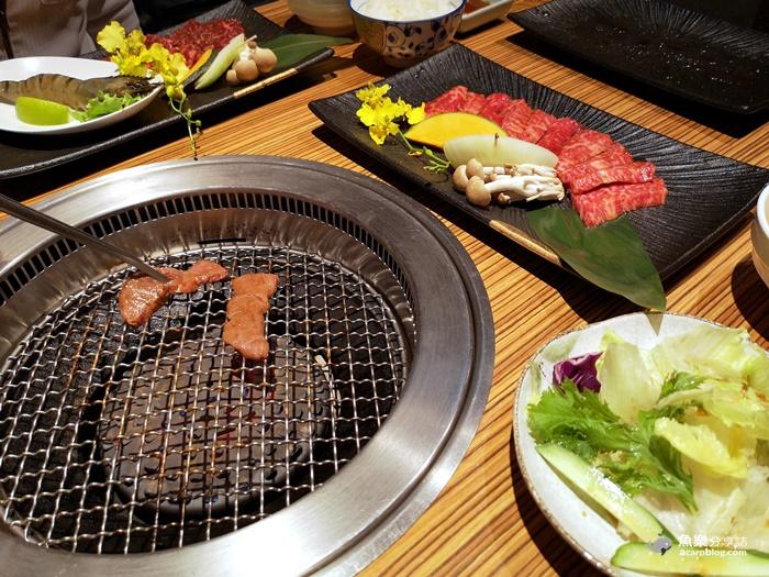 【台北內湖】燒肉的名門 赤虎|280元超值午間套餐 @魚樂分享誌