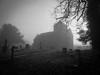 Foggy church, Nettlebed