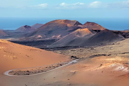 View to the Calderas Quemadas