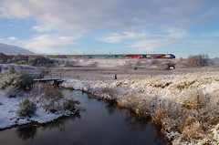 Photo of Winter Rainbow Express