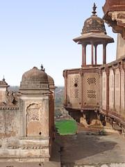 Dans le Jehangir Mahal (Orchha)
