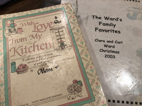 Recipe Books from Angie Fryer and Clara Ward by Wesley Fryer, on Flickr