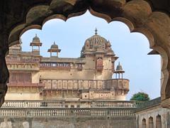 Le Jehangir Mahal (Orchha, Inde)
