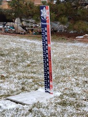 December 28, 2020 - A dusting of snow. (ThorntonWeather.com)