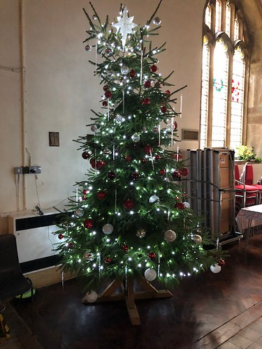 Christmas tree donated by St Ronan's School