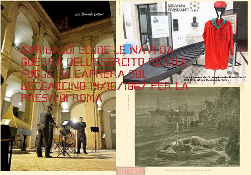 #musicaantica 🎺🎻#beccaccino #1867  #garibaldi 🚩 #giovannifroscianti  #presadiroma 🎥#elettritv💻📲 #museo #risorgimento #exconventocollescipoli  #narniterni  #bct #blibliotecacomunaleterni