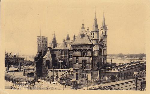 Postkarte / Belgien